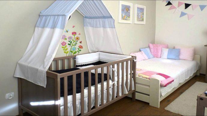красивая кровать детская из подручных материалов дизайн