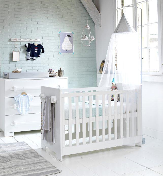 красивая детская комната в скандинавском интерере