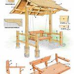 конструкция игрового домика из массива для дома