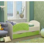 дизайн кровати дельфин для ребенка в теплых тонах