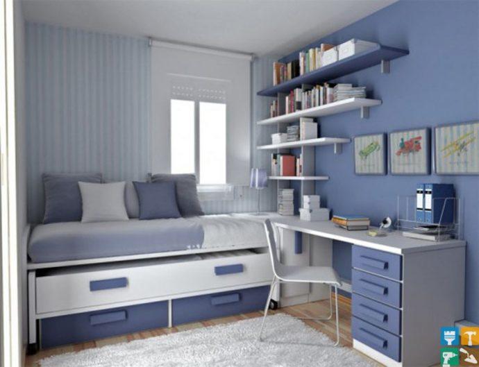 красивая детская мебель для мальчика в комнату фото