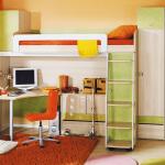 красивая мебель для мальчика в спальню фото