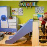 корпусная детская мебель для мальчика в комнату дизайн