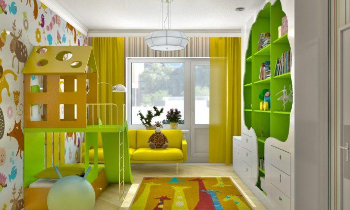 красивая детская спальня для девочки
