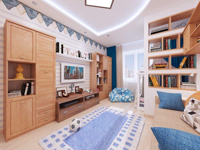 красивая спальня небольших размеров пример дизайна