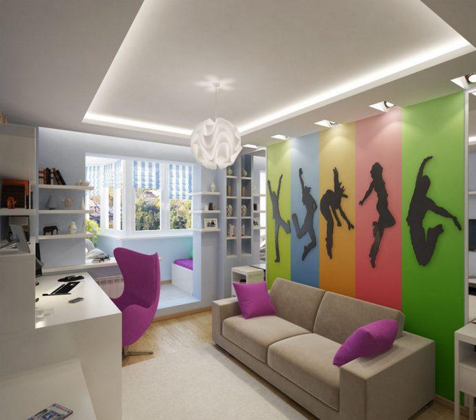 строгая детская комната для мальчика небольших размеров