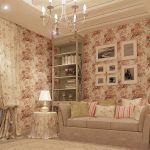 светлая спальня в дизайне прованс для девочки картинка