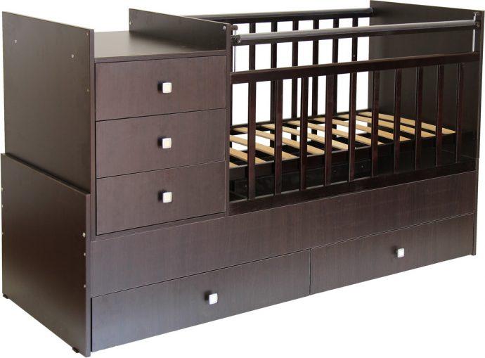 большая кровать трансформер для детей