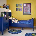 дизайнерская кроватка в детской комнате