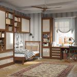 цветная мебель для мальчика в комнату фото