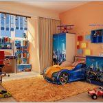 цветная мебель для мальчика в комнату дизайн