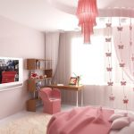 красивая детская мебель в спальню для девочки фото