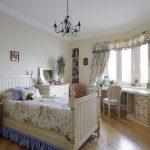 яркая детская комната в дизайне прованс для девочки картинка