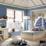 шикарная спальня в стиле прованс для девочки фото