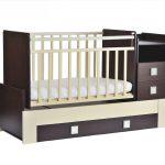 маленькая детская кроватка для детей пример