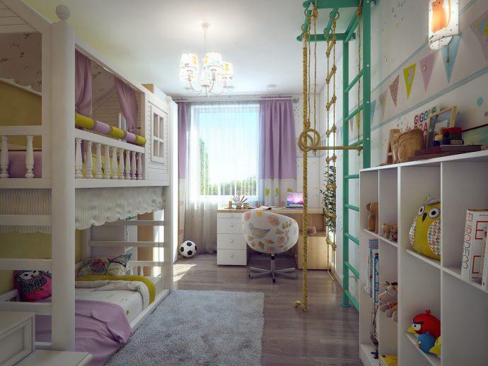 красивая спальня небольших размеров