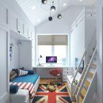 уютная комната в квартире