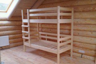 красивая кровать детская сделанная своими руками в интерьере фото
