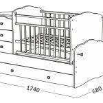 необычная детская кроватка в интерьере