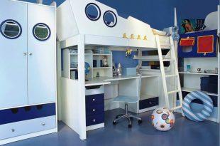 яркая мебель для мальчика в детскую комнату дизайн