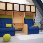 красивая детская мебель для мальчика в детскую спальню фото