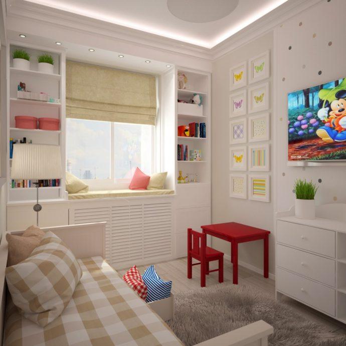 строгая детская комната для мальчика маленькая фото