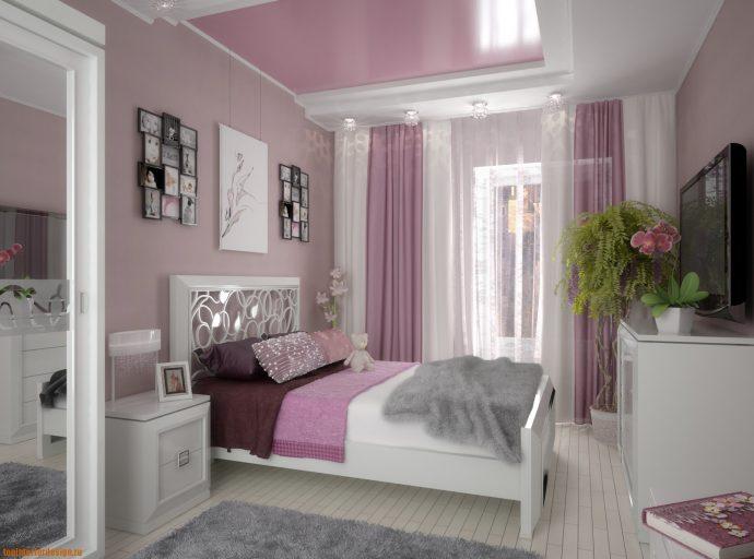 яркая детская комната в дизайне прованс для девочки фото