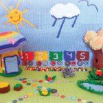 красивый детский коврик с машинками фото