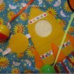 яркий детский коврик со зверьками фото