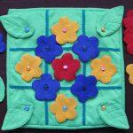 цветной развивающий коврик с машинками фото