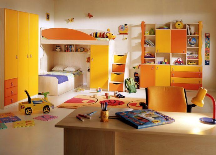цветная игровая комната