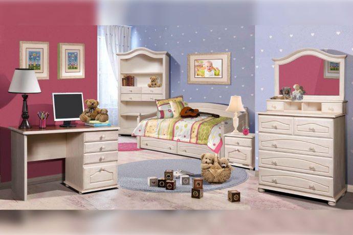 мебель из сосны в детской комнате