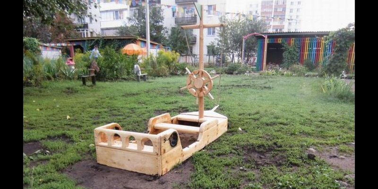 Корабль для детского сада своими руками фото