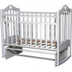 красивая кроватка для ребенка трансформер маятник для мальчика из дерева