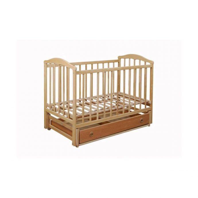 маленькая кроватка для ребенка маятник для мальчика из дерева