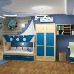 небольшая детская комната маленькая фото