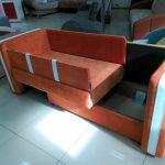 большая диван кровать для ребенка в спальне фото пример