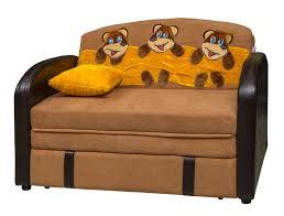 яркая кровать диван для ребенка в спальне пример фото