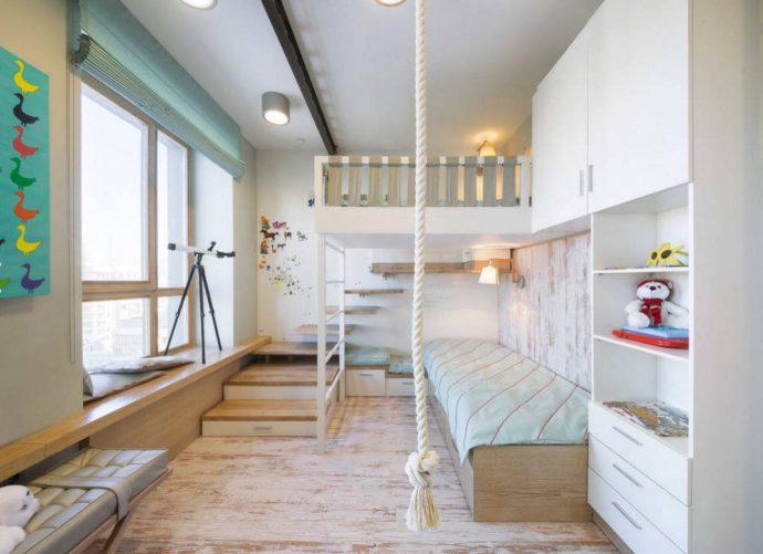 красивая детская спальня для ребенка дизайн