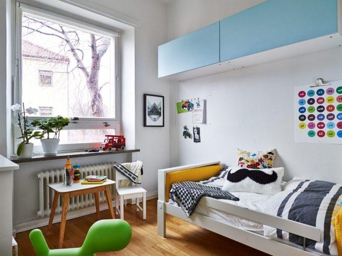 красивая детская комната в скандинавском стиле