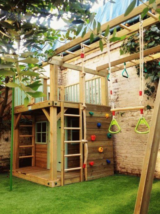 необычный детская площадка для развлечений