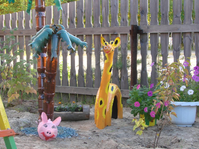 Садовые игрушки для дачи своими руками