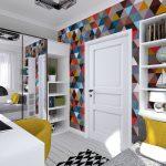светлая детская комната в скандинавском дизайне