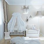 уютная детская комната в скандинавском стиле