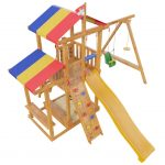 конструкция функциональной детской качели стандартная