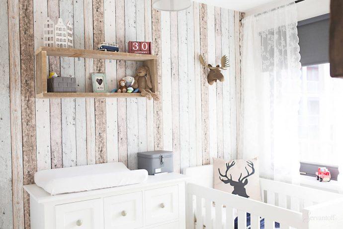 вид комнаты в скандинавском интерьере