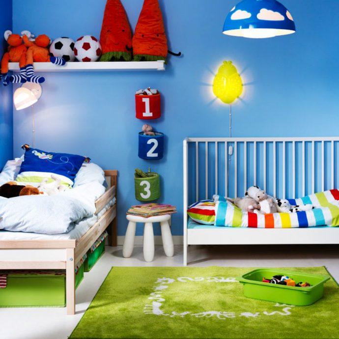 дизайн детской для пары детей