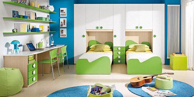 интерьер комнаты для детей для двойняшек
