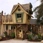 конструкция детского домика из массива для дома