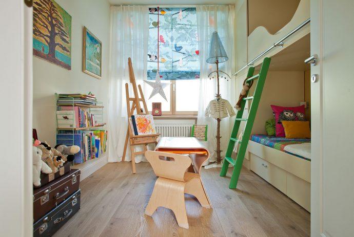 интерьер детской в скандинавском интерьере